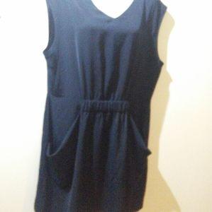 ALLSAINTS black mini dress